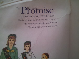 Girls Scout Promise