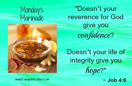 Monday's Marinade Confidence