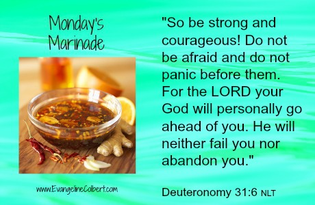 marinade, courage, make room for mommy