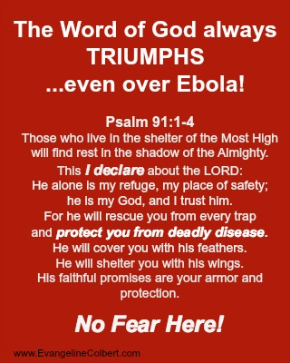 Ebola and Psalm 91