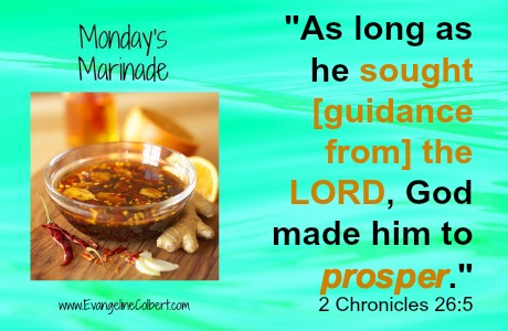Monday's Marinade - Prosper