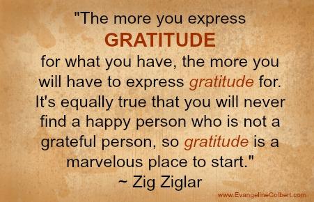Gratitude by Ziglar