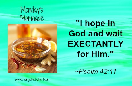 Monday's Marinade- EXPECTANCY - Ps 42-11