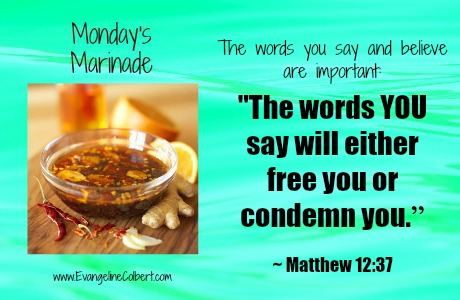 Monday's Marinade -Your Words